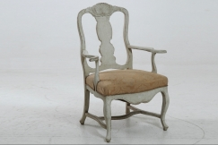 Scandinavian armchair, 19th C.