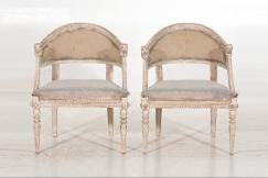 Set of 8 Swedish chairs