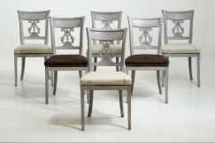 Scandinavian chairs, ca. 1820
