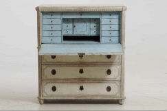 Gustavian secretary, 19th C.