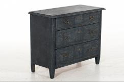 Gustavian chest, 19th C.