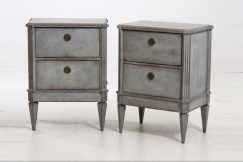 Pair of commodes.