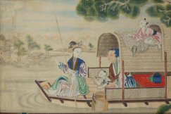 18th c. Chinese gouache