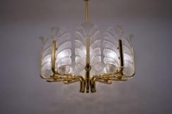 Orrefors chandelier