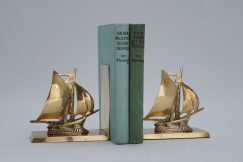 Pair Art deco bookends
