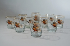 Retro whisky glasses