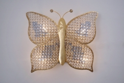 Butterfly wall light