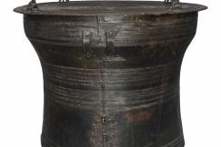 Big bronze rain Drum XVIII th