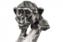 Monkey sculpture sterling