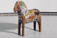 Original painted horse, 19th C