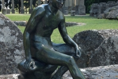 SEATED MERCURY