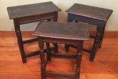 17th century joint stools