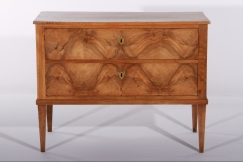 French Walnut Commode c. 1800