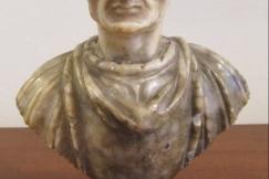 An Alabaster bust