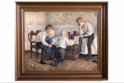 Painting, Ch. Frimodt 1894