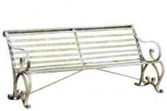 Regency Garden Iron Seat Bench