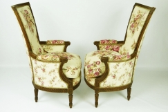 Louis XVI period armchairs