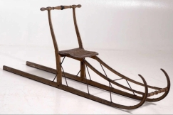 Swedish sled, 19th C.