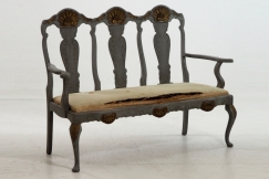Scandinavian sofa, 19th C.