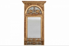 Carved mirror, circa 1790