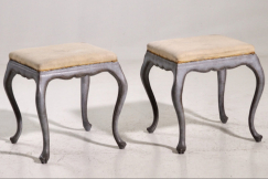 Swedish stools, 19th C.