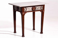 Gustavian table, circa 1840.