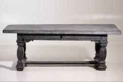 Scandinavian table, circa 1750