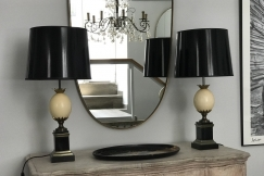 Maison Charles Pair of Lamps