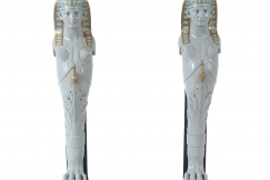 Egyptian Revival Pedestals