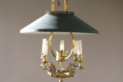 1950s French Hanging Light