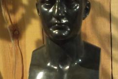 Bronze bust of Napoleon