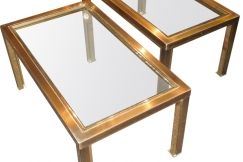 Pair of side-tables