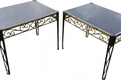 Pair of English side tables