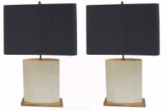 Pair of Roger Vanhevel  Lamps